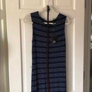 Tart Navy Dotted Maxi Dress Size L